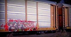 (timetomakethepasta) Tags: stoe stoer cdc freight train graffiti art autorack