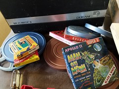 school films (army.arch) Tags: thrift fim box boxes film apollo11 manonthemoon