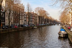 Amsterdam, Netherlands. (Chanel Debono) Tags: amsterdam netherlands holland dutch capitalcity northholland canals rivers bicycles bikes dutchshoes clog clogs windmills tulips flowers vondelpark reddistrict zaansceschans sun sunnydays february februarysun winter wintersun chaneldebono