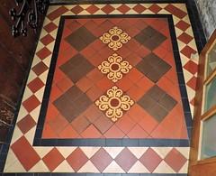 Floor tiles (Will S.) Tags: mypics stpatrickscathedral churchofireland anglican dublin ireland church churches christian christianity anglicanism protestant protestantism tiles floor