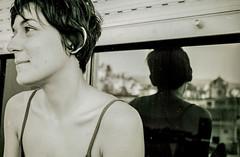 Anthi Kamarioti in Granada (Martin Juan VW) Tags: anthi kamarioti greece spain granada cartuja real portrait retrato andalucia españa girl beautiful model improvised balcony balcon window ventana fenster balkon hübsch guapa modelo