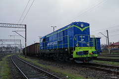 SM31-083 (PM's photography) Tags: pkp cargo diesel loco locomotive train trainspotting rail railroad railway station freight poland lubuskie czerwiensk sony a6000 sm31 sm31083 trumna