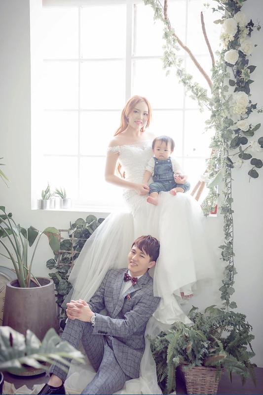 親子婚紗,My Dear手工精品婚紗,週歲,韓式婚紗,全家福,台中婚紗,台中全家福