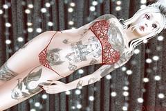 KAOS TATTOO – Demon Horror @ The Men Jail Event (Ombrebleue Winsmore) Tags: kaostattoo demon horror ink tattoo color black