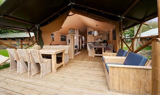 Africa Safari Lake Manyara Glamping tents (luxury)