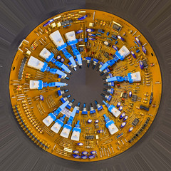 circuit six a (mqmquilter) Tags: budockwater cornwall d850 abstract circuitboards closeups planets stilllife