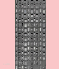 Grey Building (ARTUS8) Tags: minimalismus nikon24120mmf40 swo2farbig color farbe fassade digitallycomposed fenster nikond90 linien modernearchitektur flickr colour facade window gebäude