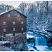 Lanterman's Mill in Winter