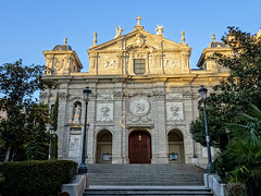 exterior Iglesia de Santa Barbara Convento de las Salesas Reales Madrid 02 (Rafael Gomez - http://micamara.es) Tags: exterior iglesia de santa barbara convento las salesas reales madrid