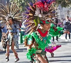 Dance is the hidden language of the soul (gcarmilla) Tags: green dancer danza azteca aztec azteco tradition tradizione mexico mexican mexicocity zocalo