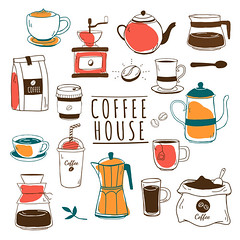 Cafe and coffee house pattern vector (nobir899) Tags: americano background beans beverage black blackcoffee brew brewed brown cafe coffee coffeecup coffeehouse coffeepot coffeeroasters coffeeshop cupofcoffee design dining drawing drink espresso foodandbeverage graphic green handdrawn hipster hotcoffee icedcoffee icon illustrated illustration logo mixed mocha orange pattern patterned pot print red restaurant roasters roastery vector wallpaper white whitebackground