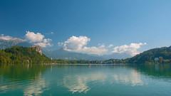lake & castle - Bled (05) (Vlado Ferenčić) Tags: lakes castles vladoferencic vladimirferencic slovenia bled lakebled castlebled cloudy clouds nikond90 nikon182003556 lakecastle landscapes