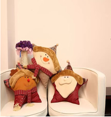 Christmas Snowman Decorative Cushion (mywowstuff) Tags: gifts gadgets cool family friends funny shopping men women kids home