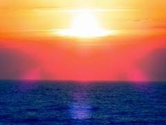 Sunset over the Irish Sea (billnbenj) Tags: barrow cumbria biggarbank sunset irishsea