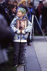 The Boy with the Photo (tyson_laidler) Tags: ektachrome e100 35mm slide film remembrance day victoria bc canon eos3 kodak