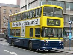 Dublin Bus RH62 (91D1062). (Fred Dean Jnr) Tags: april2005 dublin dublinbus busathacliath dublinbusyellowbluelivery leyland olympian alexander r dublinbusroute37 rh62 91d1062 hawkinsstreetdublin pboro