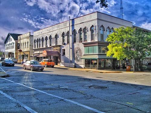 Bloomington Illinois  - Monroe Building - 101 W Monroe St  - Former Hotel