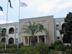 American Academy, Grigori Axfentiou Street, Larnaca, Cyprus (Paul McClure DC) Tags: larnaca larnaka cyprus mediterranean may2018 historic architecture