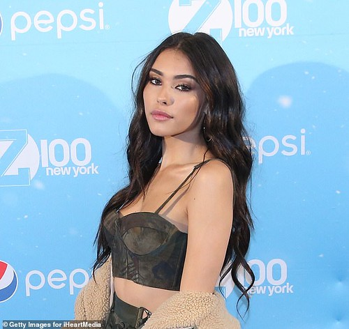 Madison Beer at All Access for Z100 Jingle Ball