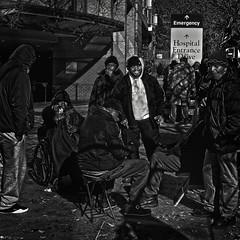 """What Worth Has Freedom If It Leads Not To The Brotherhood Of Man"", George Washington University Metro Station, Foggy Bottom, Washington, DC (Gerald L. Campbell) Tags: streetphotography street squareformat spirituality spiritualindifference socialdocumentary solidarity socialatomism socialjustice socialcommentary alienation aloneness bw blackwhite blackmale citylife community canonsx60hs dc digital downtown freedom georgewashingtonuniversitymetro indifference injustice inequality justice love life portraitphotography portrait urbanphotography urban unitedstates ubanphotography washingtondc yearning yeswecan"