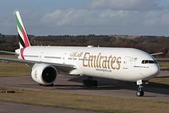 Boeing 777-300ER A6-ECS Emirates (Mark McEwan) Tags: boeing b777 boeing777 boeing777300er boeing77731her a6ecs emirates aviation aircraft airplane airliner edi edinburghairport edinburgh