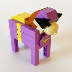 LEGO Dala Horse - '66 Batgirl Front