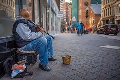 C1006889 (sswee38823) Tags: musician streetmusician portrait downtown man clarinet 35mm 35 summilux35 leicasummiluxm35mmf14asphfle leicasummilux35 summiluxm11435asph summilux leica leicam leicacamera m10 leicam10 leicacameraagleicam10 rangefinder photography photograph photo boston bostonma newengland seansweeney seansweeneyphotographer