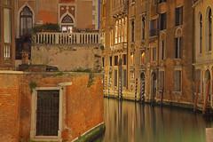 Il fascino di Venezia / The charm od Venice (Venice, Veneto, Italy) (AndreaPucci) Tags: venice italy italia veneto night canal grand reflections andreapucci