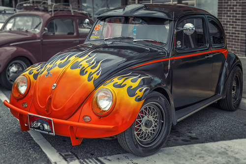 Skully Bug (Lenoir Downtown Cruise-In)