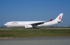 F-WWKK Airbus A330 Dragonair (@Eurospot) Tags: fwwkk bhyq airbus a330 a330300 dragonair lfbo toulouse blagnac