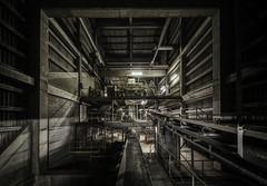 M K P (Martin Kriebernegg) Tags: urbex exploration found inside industrial industry factory dark light night canon travel hdr