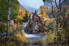 The Crystal Mill Deluge (Gavin Hardcastle - Fototripper) Tags: mill crystal colorado autumn fall waterfall aspens rain rainy cold wet soaked gavinhardcastle fototripper