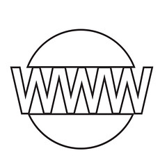 WWW sign icon, World wide web symbol icon (www.icon0.com) Tags: www icon logo website square speech stamp mark white earth http wide concept vector sign symbol internet star shadow circle black technology shape label flat creative illustration geometric world round web badge planet hexagon quality seal bubble globe button ribbon