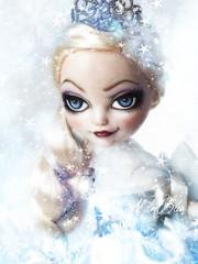 La Reine des Neiges........ (NylonBleu) Tags: ever after high doll repaint ooak ooakbcreations nylonbleu