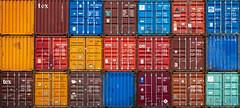 Container Hamburg (Duke.Box) Tags: containerhafen containerterminal containerschiff hamburg seefracht seafreight spedition hafen