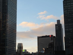 2018 December Christmas Morning Clouds Holiday 8398 (Brechtbug) Tags: 2018 december christmas morning light virtual clock tower from hells kitchen clinton near times square broadway nyc 12252018 new york city midtown manhattan winter holiday weather building breezy cloud hell s nemo southern view tuesday