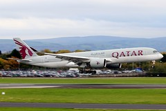 QATAR AIRWAYS AIRBUS A350-900 A7-ALA (Level 13 Images) Tags: qatar airways airbus a350900 a7ala