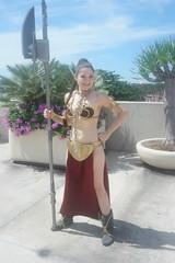 SDCC 2018 - 1803 (Photography by J Krolak) Tags: cosplay costume masquerade comicconvention sdcc2018 leiasmetalbikini slaveleia princessleia starwars leia