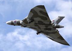 Avro Vulcan (Graham Paul Spicer) Tags: riat airtattoo tattoo ffd fairford raffairford airfield aircraft plane flying aviation display airshow uk vulcan avro royalairforce riat2011fairford