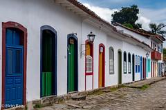 Facades in Paraty (elcio.reis) Tags: house colors nikon paraty cores casario riodejaneiro brasil br