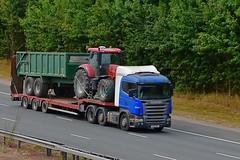 431 JGC (Martin's Online Photography) Tags: scania r500 v8 truck wagon lorry vehicle a1m fairburn northyorkshire nikon nikond7200