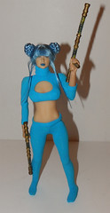 TurquoiseFighter1 (Lost World Productions) Tags: 16 scale female custom anime fighter