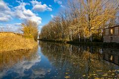 Canal de Castilla-Reflejos desde la esclusa 6 (dnieper) Tags: canaldecastilla reflejos esclusa6 belmontedecampos palencia spain españa