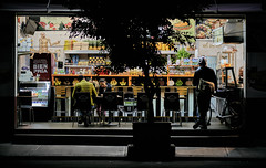 Join my Street Photography Challenge (link in description) (Frederik Trovatten) Tags: streetphotography street streets streetportrait streetphotographer public store night photography nightphotography dark storefront shadow shadowplay fruit mexico mexicocity fuji fujifilm