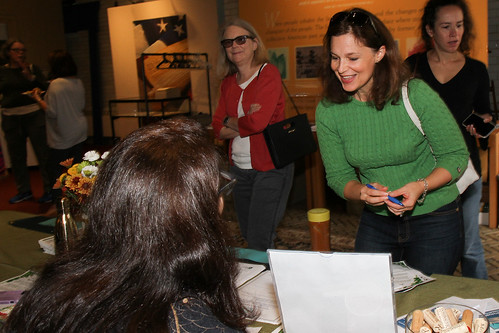 Guests learned about ways to sign up for more sustainable program alerts