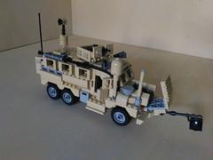 Lego MRAP Cougar JERRV 6x6 (5) (Parm Brick) Tags: lego military army modern warfare custom afol mod moc mrap jerrv cougar 6x6 truck mrapcougarjerrv6x6