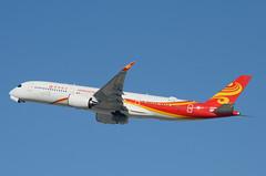 Hong Kong Airlines A350-941 (B-LGH) LAX Takeoff 4 (hsckcwong) Tags: hongkongairlines a350941 a350900 a350 airbusa350 blgh lax klax