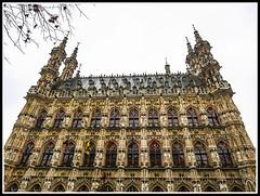 Paseando por Bélgica (edomingo) Tags: edomingoolympusomdem5 mzuiko1240 belgica lovaina ayuntamiento gótico arquitectura