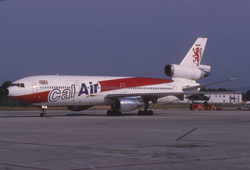 Calair DC-10-10; G-BJZD@PMI, October 1988
