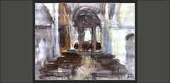 CASTELLAR DE N'HUG-PINTURA-ALTAR-INTERIOR-ESGLESIA-ROMANICA-PAISATGES-PLASTICA-ART-POBLES-BERGUEDÀ-ROMANIC-CATALUNYA-PINTURES-PINTOR-ERNEST DESCALS (Ernest Descals) Tags: castellardenhug romanico romanic romanica art arte artwork esglesia church iglesia altar interior interiors interiores paisatge paisatges esglesies iglesias landscaping landscape paisaje paisajes visitar excursion pintar pintando pintant inspiracion plastica paint pictures orden baile formas bancos madera ancient antiguas dance espacio pinor pintores pintors painter painters paintings painting cuadros cuadro pinturas pintures quadres poble pobles berguedà barcelona catalunya catalonia cataluña artistas plasticos artiestes plastics ernestdescals artistes artist artista profundidad manchas ritmo motivaciones artisticas pueblo pueblos village